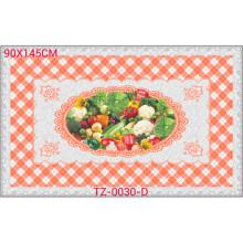 Hot Popular Todos em Um Projeto Independente LFGB Transparente Toalha De Mesa Impressa 90 * 145 cm (TZ-0030B)