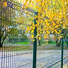 villa perimeter security wire mesh fencing designs