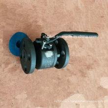 150lb 300lb a forgé la vanne à bille d'extrémité de connexion de bride de l'acier A105