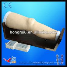 Modelo de treinamento de injeção intra-articular eletrônico ISO, modelo de injeção de joelho articular
