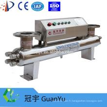 Stérilisateur UV 254nm SS 304/316 pour traitement de l'eau