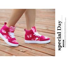 Zapatillas de deporte respirables de la mujer de las zapatillas de deporte de la manera de la venta caliente 2017 nuevas