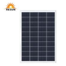 Panneaux solaires photovoltaïques en polyéthylène sur le toit de marque Resun 80W
