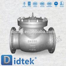 Didtek DN25 PN16 Фланцевый концевой поворотный обратный клапан