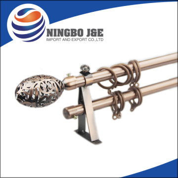 AC Color Window Double Curtain Pole Set