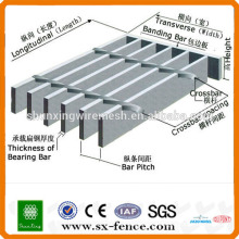 galvanized construction decoration Steel Grating sheet