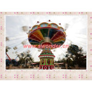 amusement new type rides flying swing chair