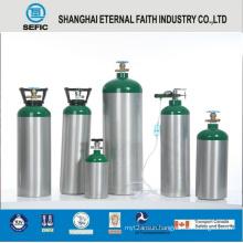 Mt-6-10 Hot Selling Medical Aluminum Oxygen Gas Cylinder