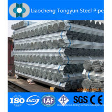 Galvanized ERW black round steel pipe