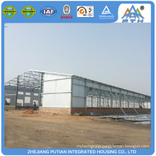 Cheap fast built steel structure prefabricated barns