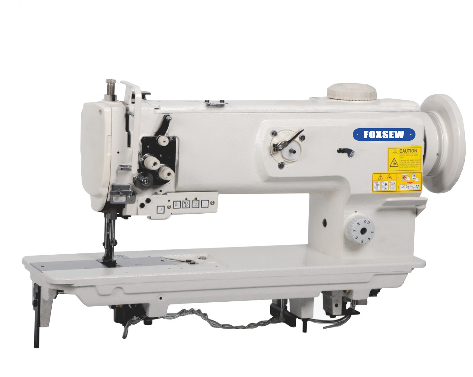 KD-1510N-L14 Single Needle Compound Feed Heavy Duty Lockstitch Machine