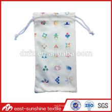 Meilleur vente microfibre petit sac pour lunettes de soleil
