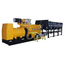 Utilisation efficace de l'énergie Générateur de biogaz 1000kW Googol