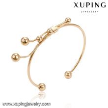 51707 xuping оптом мода дизайн бусины манжеты браслет для женщин