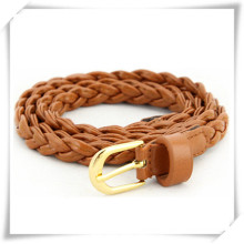 2015 Leather Fasion Weave Belt with High Quality (TI06002)