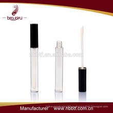 Tubo delgado del brillo del labio del plástico para el empaquetado cosmético