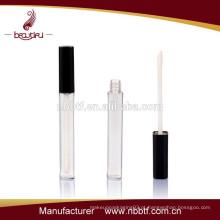 Slim Tubo plástico de lábio para embalagens cosméticas
