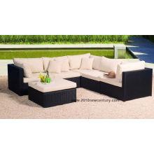 Rattan/Wicker Sofa, Synthetic Rattan Furniture and Sofa (6048)