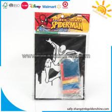 Spiderman Samt Sand Art