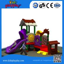 Equipamento exterior do campo de jogos das crianças de Kidsplayplay para o parque de diversões da escola
