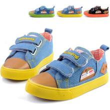 2014 respirável soft inferior crianças sapatos de lona (bf-bl07)