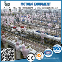Poultry slaughtering processing line automatic chicken plucking machine