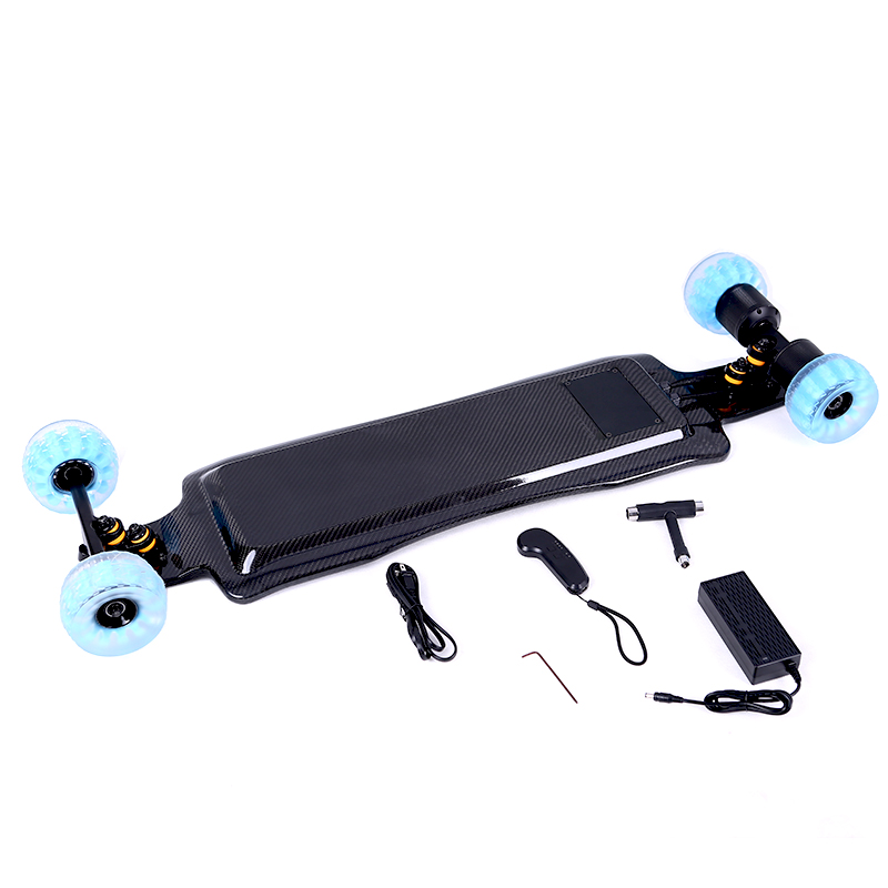 carbon fiber direct drive skateboard