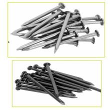 Proveedor de clavos de hormigón endurecido de acero inoxidable galvanizado