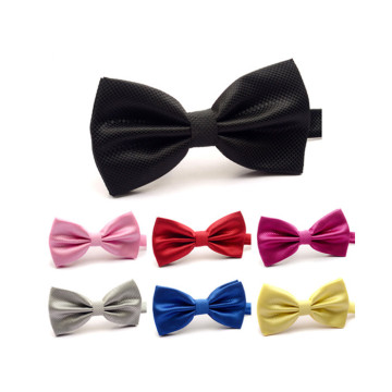 Soild Color Velvet Bowtie For Wedding Party