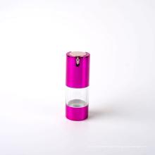 20ml garrafa de bomba Airless plástico com bomba de alumínio (EF-A60020)