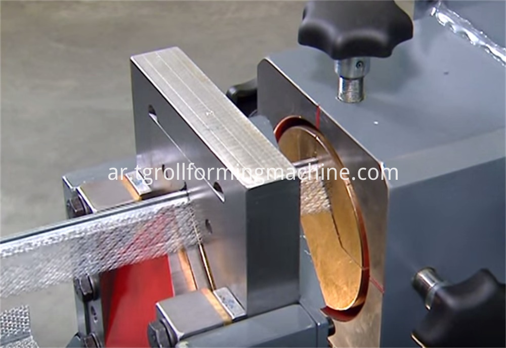 Metal Expanded Mesh Corner Bead Machine