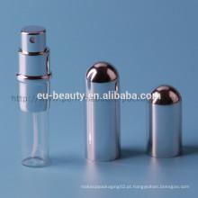 Vazio frasco de spray de perfume de alumínio