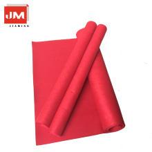 Tapete vermelho de casamento de alta qualidade da tela não tecida