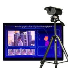 High Sensitivity Camera Temperature Scanner Face Recognition