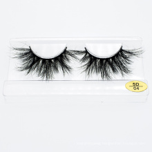 Fast Shipping 3D 5D Mink Eyelashes Siberian Real Mink Eyelashes 25mm Lash Wholesale Custom Packaging Boxes