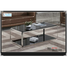 10 mm Gloss High Quality Modern Cafe Table (XF-1311)