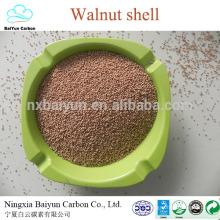 crushed walnut shell abrasives 30mesh walnut shell