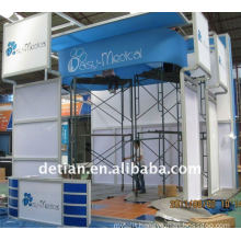 Shanghai custom 20x20 advertising booth space display for display exhibition booth -06