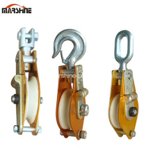 Nylon Sheave Wire Rope hijs tackle