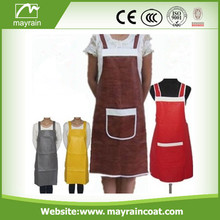 New Fashion PU Fabric Apron