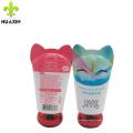 Cosmetic tube manufacturers 40ml cat shape aluminum metal tubes for hand cream