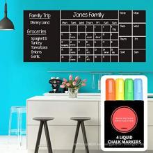 Calendario de pared Pizarra Calendario de borrado en seco Mensual