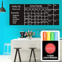 Wall Calendar Chalkboard Dry Erase Calendar Monthly