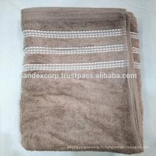 serviettes de bain monogrammées