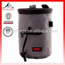 Bolso de tiza escalada con correa y bolsillo con cremallera - Para almacenamiento de tiza - Ideal para escalada, montañismo-HCC0002