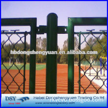 2'' Hole Size Galvanized Chain Link Fence