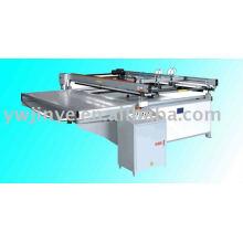 JY Serie großformatiger halbautomatische Siebdruckmaschine