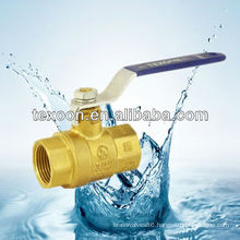 lead free fully forged npt brass ball valves full port female thread