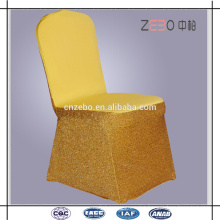 Hot Selling Wedding or Banquet Used Cheap Sequin Spandex Chair Covers