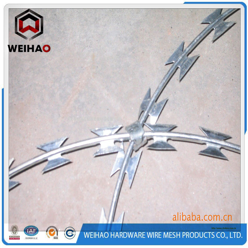 fake razor barbed wire